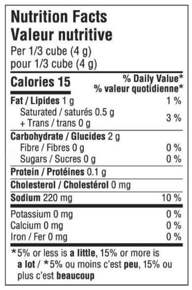 Organic Gravy Cubes - Poultry NFT