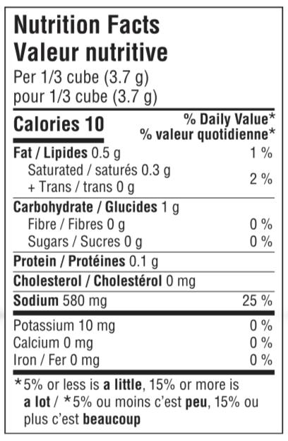 Organic Bouillon Cubes - Yeast Free Onion - NFT