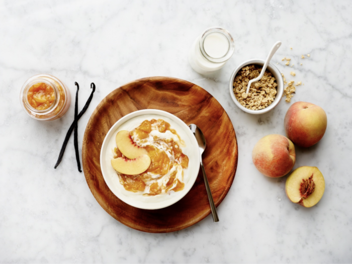 Easy Peach Vanilla Jam